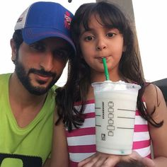 Nasser bin Hamad Al Khalifa con su hija, Sheema bint Nasser bin Hamad Al Khalifa, 16/10/2015. Vía: nasser13hamad
