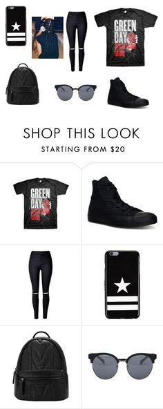 """wattpad"" by kennajayce on Polyvore featuring Converse, WithChic, Givenchy and Quay"