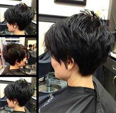 Short-Hair-Styles-for-Thick-Hair.jpg × The post Kurzhaar-Frisuren-für-dickes-Haar.jpg × & Frisuren appeared first on Short hair styles . Popular Short Hairstyles, Short Hairstyles For Thick Hair, Short Hair With Layers, 2015 Hairstyles, Popular Haircuts, Short Hair Cuts For Women, Short Hair Styles, Short Haircuts, Haircut Short