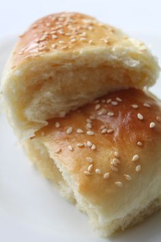 """So lately I've been thinking about these Chinese coconut buns (or as I've always known them, """"honey buns"""") These buns are rich,sweet and filled with a mixture of coconut, b…"""