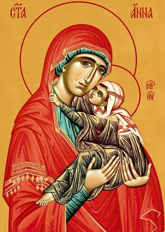 Righteous Saint Anna, the Mother of the Most Holy Theotokos