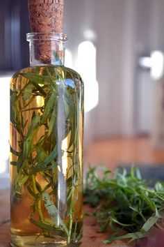 The View from Great Island | DIY Tarragon Vinegar