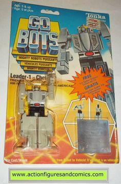 gobots LEADER-1 one I hologram sticker card 1985 tonka ban dai toys action figures moc mip mib vintage transformers