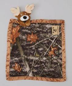 Take a look at this Green & Brown Forest Camo Deer Security Blanket by True Timber on #zulily today!