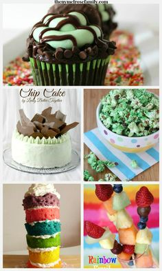 Find the perfect St. Patrick's Day treat to bake up with this creative recipes.