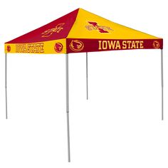 Iowa State Cyclones NCAA 9 x Checkerboard Color Pop Up Tailgate Canopy