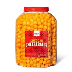 Cheese Puffs, Cheese Ball, Cheddar Cheese, Milk Store, 17 Kpop, Corn Snacks, Classic Desserts, Graham Cracker Crust, Snack Bar