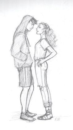 Persy and Annabeth by drakonarinka on DeviantArt