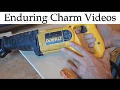 Reciprocating Saws: Tips and Tricks - YouTube