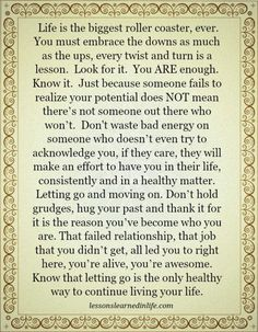 Lessons Learned in Life | Important lessons.