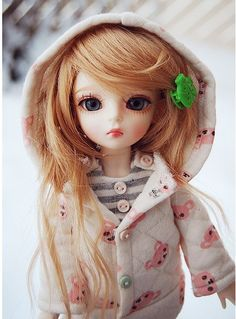 ImageFind images and videos about cute, heart and doll on We Heart It - the app to get lost in what you love. Beautiful Barbie Dolls, Pretty Dolls, Anime Dolls, Blythe Dolls, Cute Baby Dolls, Cute Babies, Little Doll, Monster High Dolls, Ball Jointed Dolls