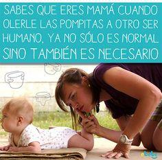 Sabes que eres mama cuando... #humor #maternidad #papa #bebe www.ebebe.mx