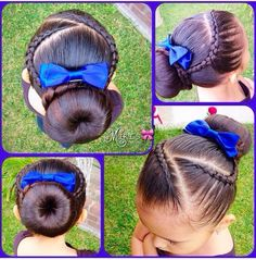 nice Hair style for little girls...