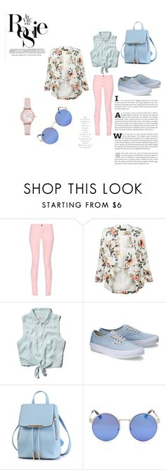 """Bez naslova #21"" by ermina-camdzic ❤ liked on Polyvore featuring Maison Kitsuné, New Look, Abercrombie & Fitch, Emporio Armani and Whiteley"