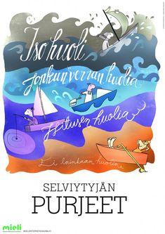 Selviytyjän purjeet varhaiskasvatukseen ja neuvolaan | Suomen Mielenterveysseura