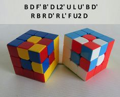 Patron Cubo Rubik 3x3 Figura N.3 Rubics Cube Solution, Lego Rubiks Cube, Rubiks Cube Patterns, Rubiks Cube Algorithms, Libro Gravity Falls, Cube World, Cool Science Facts, Cube Puzzle, Easy Paper Crafts