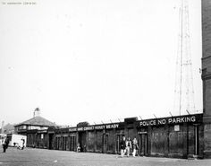 Maine Road old home of Manchester City 1968, Moss Side, Manchester.