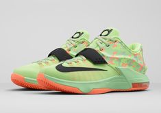 new arrival 68344 54529 Nike KD7  2015Relese  LiquidLime  Style  NBA  Trendy  Unique Nike Tights