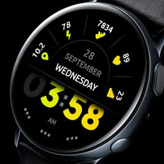 Watch 2, Smart Watch, Modern Watches, Watches For Men, Digital Watch Face, Gear S3 Frontier, Wearable Technology, Watch Faces, Diving