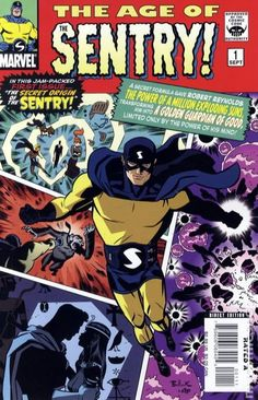 Age of the Sentry (2008) 1A Marvel Comic Book cover