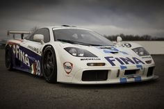 The BMW Powered 1996 McLaren F1 GTR #17R that finished 8th at the 24 hours of LeMans in 1996. Car owned by the BMW USA Classic Collection.