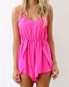 Such a summery romper..