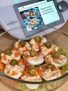 Quiches, Tortilla Rolls, Canapes, Cake, Good Food, Menu, Healthy Recipes, Healthy Food, Lunch