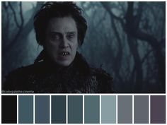 Movie Color Palette, Colour Pallette, Beetlejuice Wedding, Cinema Colours, Tim Burton Art, Color Script, Mood And Tone, Design Palette, Pallets