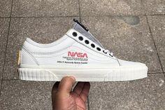 nasa vans old skool footwear collaboration sneakers kicks shoes Baskets, Tenis Vans, Kicks Shoes, Shoes Sneakers, Mens Vans Shoes, Sneakers Style, Summer Sneakers, Gucci Sneakers, Jordans Sneakers