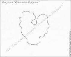 Шьём пряничного петушка — символ 2017 года - Ярмарка Мастеров - ручная работа, handmade