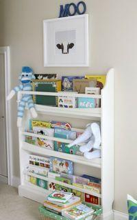 Coole Ideen für die Organisation von Kinderbüchereien - Regale im Kinderzimmer