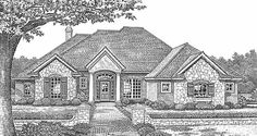 Traditional House Plan 2215 ft2