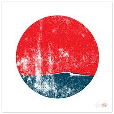 Surfing Art 75 x 8 Art Print Surf Spot von BrineAndByway auf Etsy, $15.00