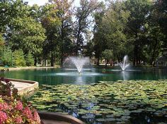 Central Park - Ashland, Kentucky- Some great memories of time spent with family...a lot of painful memories, too.