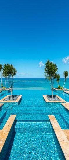"New meaning to ""infinity pool"" a pool that looks like It keeps going or doesn't really end this one is amazing"