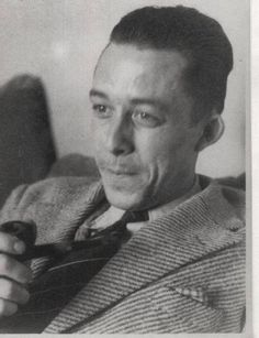 """Absurdity is king, but love saves us from it. Albert Camus, Philosophy Major, Camus Quotes, Nobel Prize In Literature, Writers And Poets, Beatnik, Iconic Movies, Great Leaders, Charles Bukowski"