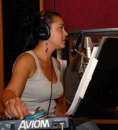 Actress Mirela Zeta voice-over. Over Ear Headphones, Studios, Artists, Artist