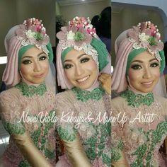 Cute flower acc veil <3 #indonesia #kebaya #hijab #bride  @novaviola