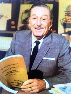 Photo taken of Walt Disney on October 27, 1966. Walt was making his final filmed appearance, which was later used in the 1966 Annual Report to shareholders of Walt Disney Productions. Walt passed away on December 15, 1966, just a few months after this photo was taken.