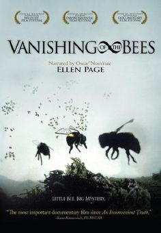 The award winning film Vanishing of the Bees, narrated by Oscar nominated Ellen Page, explores the world of massive bee deaths & Colony Collapse Disorder. Movies To Watch, Good Movies, Funny Movies, Environmental Film Festival, Environmental Education, I Love Cinema, Best Documentaries, Documentary Film, Bee Keeping