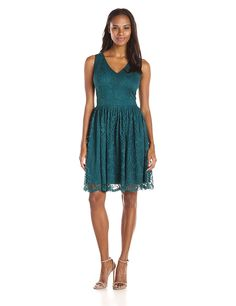 online shopping for Julian Taylor Women s Sleeveless Lace V Neck Dress from  top store. See new offer for Julian Taylor Women s Sleeveless Lace V Neck  Dress db48c857a