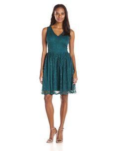 6e0a5d590bee6 Julian Taylor Women s Sleeveless Lace V Neck Dress   Don t get left behind