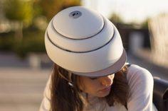 Closca Fuga foldable bike helmet