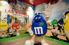 Discover candy-covered fun at M&M's World (©M&M's World)