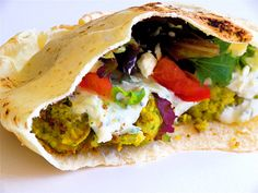 What Jim Eats: Camping Cuisine Part I: Fire-Roasted Falafel with Cucumber Mint Yogurt Dressing