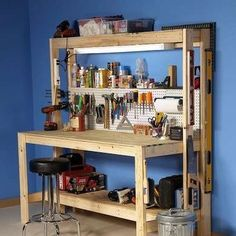 Get To Work! 15 Diy Workbenches, Craft Counters, And Potting Tables