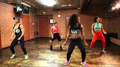 Afro Beats Zumba Adaobi Day 1/ Creating Choreo - YouTube