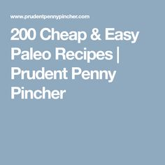 This is a comprehensive collection of the best cheap and easy paleo recipes. There are hundreds of recipes for breakfast, lunch, dinner, sides, & desserts Paleo Recipes Easy, Cooking Recipes, Cheap Recipes, Palio Diet, Easy Slider, Easy Skillet Meals, Skillet Recipes, Slider Recipes, How To Eat Paleo