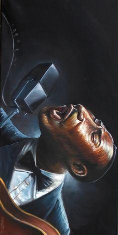 ☆ Blues Man - Art Flip & Rotated- By Artist Frank Morrison ☆
