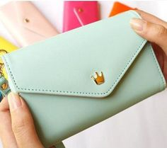 2297fc5e2d37 Aliexpress.com : Buy Women Fashion Bags iPhone Wallet Purse Coin  Case,Wristlet,Pouch, PU Leather Zip Wallet Clutches Bag cartera carteira  from Reliable ...